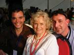 Rob, Patsy King (Erica Davidson) & Stewie